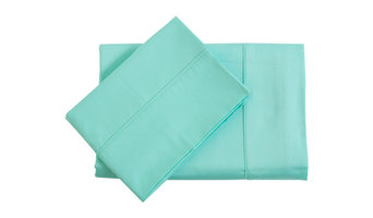 Habitat 400 Thread Count Bamboo Cotton Sheet Set Mint Single Bed