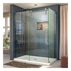 "Dreamline Enigma-Z 34 1/2""x48 3/8"" Frameless Sliding Shower Enclosure"