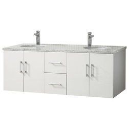 Lovely Modern Bathroom Vanities And Sink Consoles by Ica Furniture