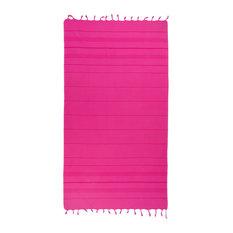 Summer Fun Pestemal Beach Towel, Pretty Pink