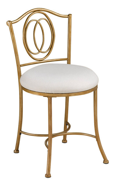 Emerson Vanity Stool Transitional Vanity Stools And