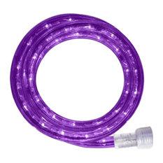 10Mm 18' Spool Of Purple LED Ropelight