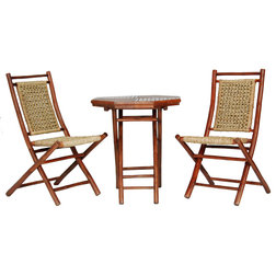 Asian Outdoor Pub And Bistro Sets by Heather Ann Creations