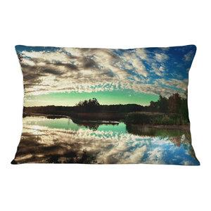 Sofa Throw Pillow 12 X 20 Designart Cu7988 12 20 Paris Panorama With Scenic Sky Skyline Photography Lumbar Cushion Cover For Living Room Home Kitchen Bedding