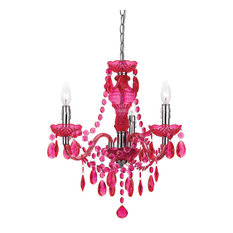 Hot Pink Chandeliers | Houzz:AF Lighting - Af Lighting 8502-3H Angelo:Home Fulton Mini Chandelier -  Chandeliers,Lighting