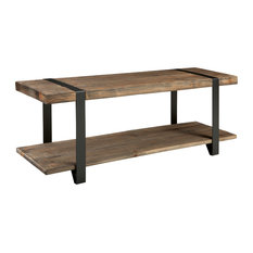Alaterre Furniture   Modesto Reclaimed Wood Entryway Bench, Rustic Natural    Dining Benches