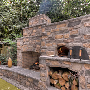 Pizza Oven With Outdoor Fireplace Houzz