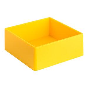 Soft Large Square Bathroom Organiser, Yellow