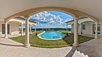 French riviera villa