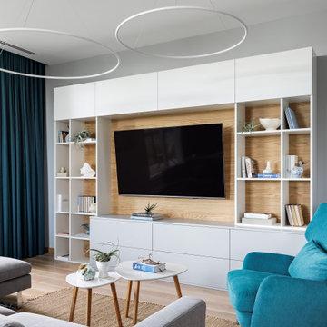 Декорирование квартиры в ЖК НЕО