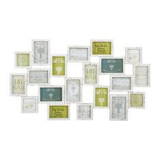 - Cadre photo multivues en bois 52 x 89 cm MEMORIES - Cadre Photo