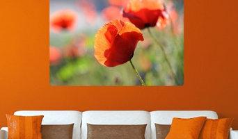 Wandbilder-Blumen