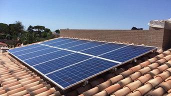 Pannelli solari installazione residenziale