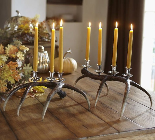 Eclectic Candleholders by Pottery Barn