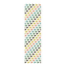 Chispum White Multicolour Flying South Wallpaper Single Roll By Helen Dardik 250x90 Cm