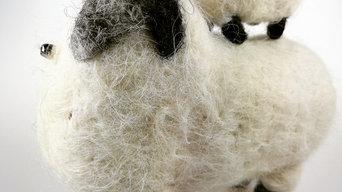 Felting sheep