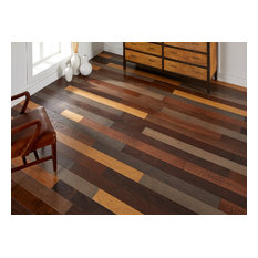 Wood It Self Stick Assorted Hardwood Planks, Without Peel & Stick