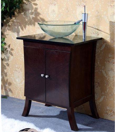 Decolav 24 Bathroom Vanity 24 inch bathroom vanity with vessel sink image | roselawnlutheran