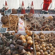 - Julemarkede i Fuchsiahaven - Juledekorationer