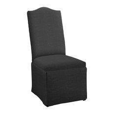 Hekman Woodmark Meryl Dining Chair, Medium Black