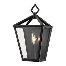 Millennium Lighting Outdoor, Powder Coat Black, Clear