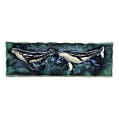 "Maui Humpback Whale Wall Art,    9""x23"" LP10"