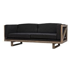 Contemporary Wooden Sofas | Houzz
