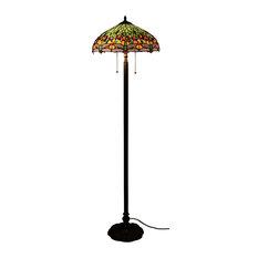 traditional floor lamps houzz. Black Bedroom Furniture Sets. Home Design Ideas