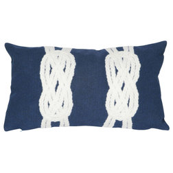 Beach Style Outdoor Cushions And Pillows by Liora Manne
