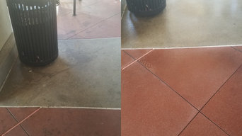 Santa Ana Pressure Washing Job