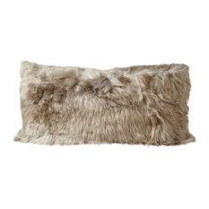 "Alpaca Cushion, 11""x22"""
