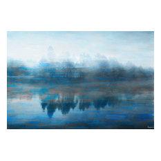 Lake Marmot Print on Canvas, 152x101 cm