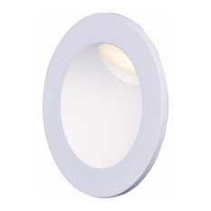 "Alumilux AL 3.25"" 2W 1-LED Outdoor Wall Sconce, White"
