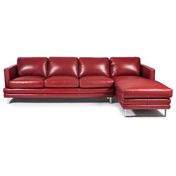 Contemporary Sectional Sofas by Lazzaro Leather Inc