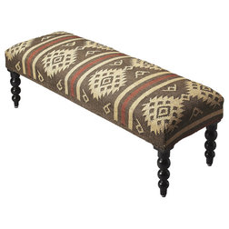 Traditional Upholstered Benches by Butler Specialty Company