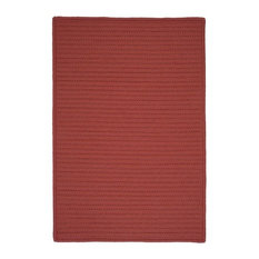 Colonial Mills, Inc - Simply Home Solid Rug, Terracotta, 12'x15' - Outdoor Rugs