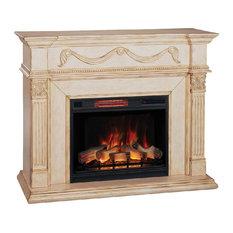 ClassicFlame 28WM184-T408 28II042FGL Infrared Electric Fireplace Insert Gossamer