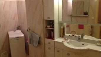 salle de bain avant apres