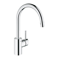 Concetto Single-Handle Pull-Down High Arc Kitchen Faucet, 1.75 GPM, Chrome