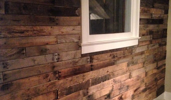 Pallet Wall Installation
