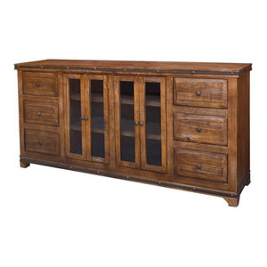 Addison Rustic Solid Wood Console Table
