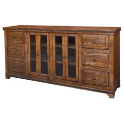 Rustic Buffets And Sideboards by Crafters and Weavers