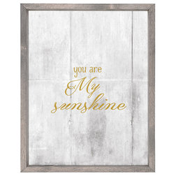Perfect Contemporary Prints And Posters by Forest Creations You Are My Sunshine