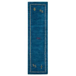 "Safavieh Himalaya Collection HIM583 Rug, Blue, 2'3"" X 10'"