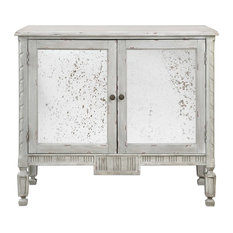 Okorie Gray Console Cabinet By Designer Jim Parsons