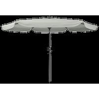 Corliving Tilting Patio Umbrella, Sand Gray