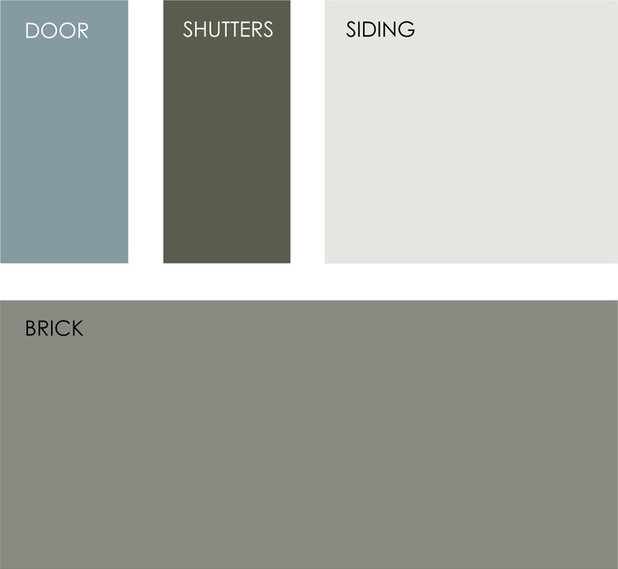 Help what color should i paint my house exterior for Light gray exterior paint
