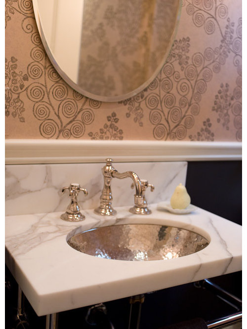 Inspiration For A Timeless Powder Room Remodel In Seattle