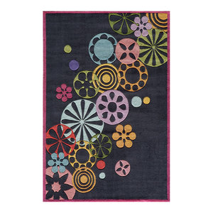 Momeni Lil Mo Hipster Collection Black Lmt 8 Rug 2 X 3