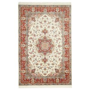 Tabriz 50Raj Persian Rug, Hand-Knotted, 300x200 cm